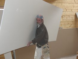 Carrying Drywall
